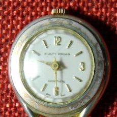 Relojes de bolsillo: ANTIGUO RELOJ LEPINE - ENFERMERA - MARCA MULTY PRIMA - SWISS - AÑOS 30 - 30 MM DIAMETRO - NUMERADO. Lote 154974906