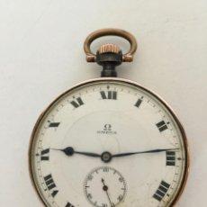 Relojes de bolsillo: OMEGA RELOJ BOLSILLO SUIZA 5 CM VINTAGE PRINCIPIOS DE SIGLO XX. Lote 155166902