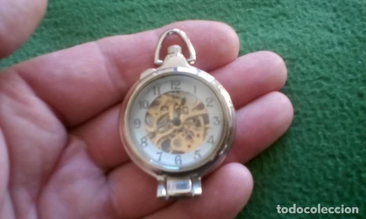 Relojes de bolsillo: Reloj de bolsillo carga manual a cuerda ¡¡ sólo 20 euros !! - Foto 3 - 155212562
