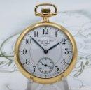 Relojes de bolsillo: MONTGOMERY BROS-ELGIN-USA-FANTASTICO RELOJ DE BOLSILLO-BISEL Y TAPA ROSCADA-CIRCA 1918-FUNCIONANDO. Lote 155396342