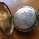Relojes de bolsillo: CAJA DE 3 TAPAS DE RELOJ DE BOLSILLO SOLOR LILLE 1902 MEDAILLE ARGENT. Lote 155470001
