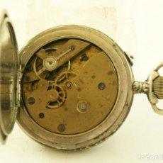 Relojes de bolsillo: RELOJ DE BOLSILLO BONITA CAJA 46.6MM. Lote 155609722