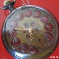 Relojes de bolsillo: RELOJ ANTIGUO SUIZO DE BOLSILLO. Lote 155653398