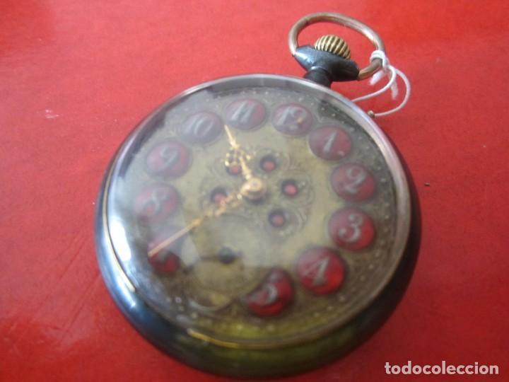 Relojes de bolsillo: Reloj antiguo suizo de bolsillo - Foto 2 - 155653398