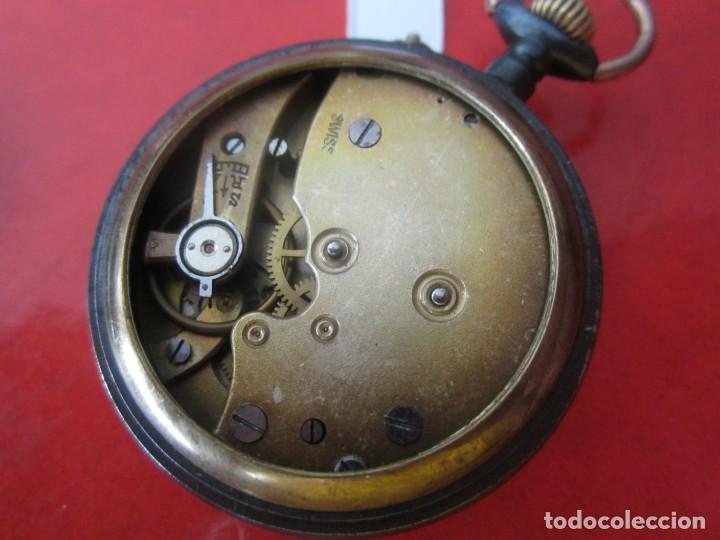 Relojes de bolsillo: Reloj antiguo suizo de bolsillo - Foto 4 - 155653398