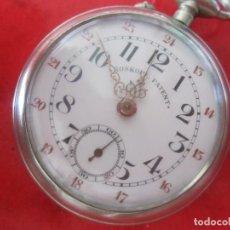 Relojes de bolsillo: RELOJ ANTIGUO DE BOLSILLO ROSCKOPF PATENT. Lote 155660426
