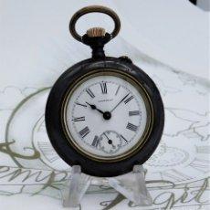 Relojes de bolsillo: LONGINES-RELOJ DE BOLSILLO REMONTOIRE-CIRCA 1885-MEDALLA ORO PARÍS 1878-FUNCIONANDO. Lote 155678758