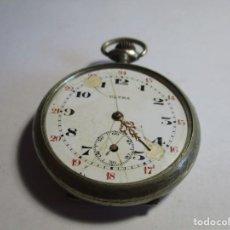 Relojes de bolsillo: RELOJ FUNCIONANDO 45 MM SIN CONTAR LA CORONA . Lote 155841546