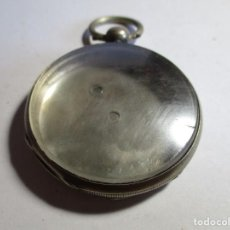 Relojes de bolsillo: CAJA DE RELOJ DE PLATA 46 MM TRES TAPAS . Lote 155847202