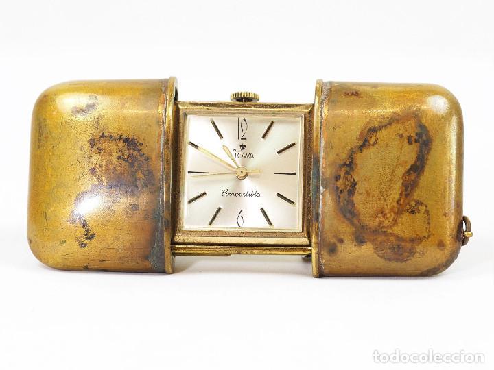 RELOJ ART DECO STOWA DE BOLSILLO O VIAJE (Relojes - Bolsillo Carga Manual)