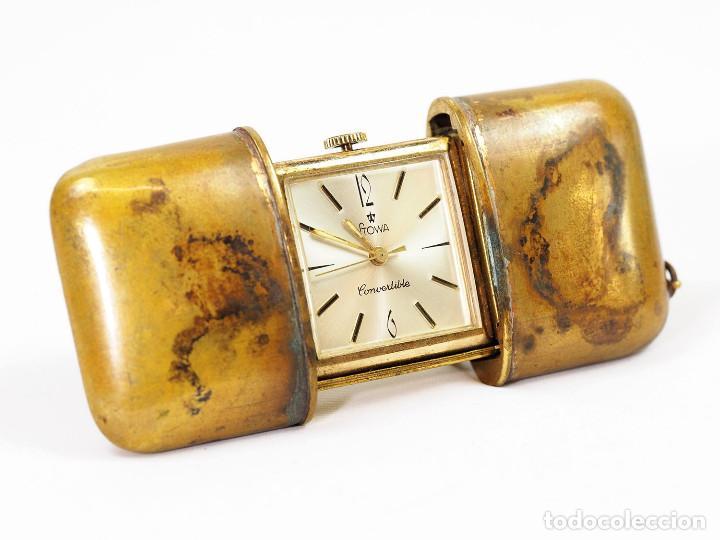 Relojes de bolsillo: Reloj Art Deco Stowa de Bolsillo o Viaje - Foto 2 - 156041670