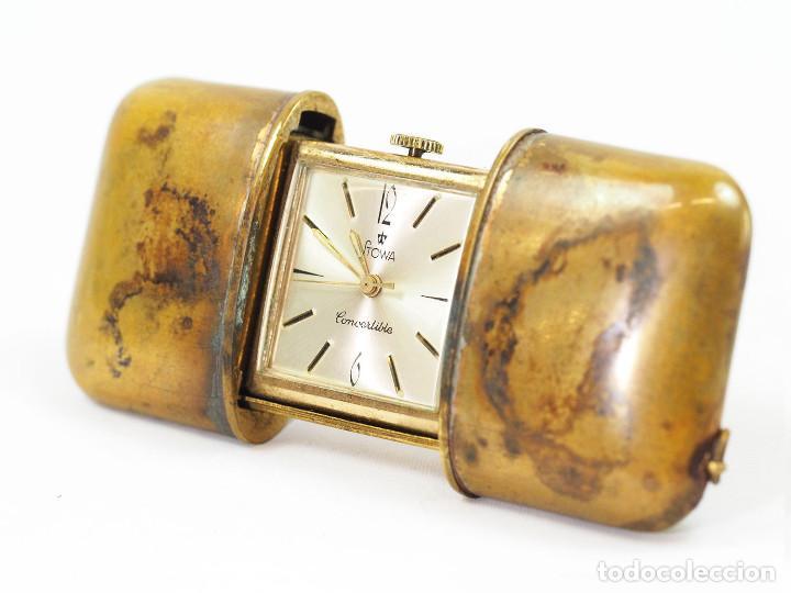 Relojes de bolsillo: Reloj Art Deco Stowa de Bolsillo o Viaje - Foto 3 - 156041670