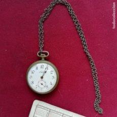 Relojes de bolsillo: RELOJ DE BOLSILLO AILETTE. NO FUNCIONA. Lote 156214186