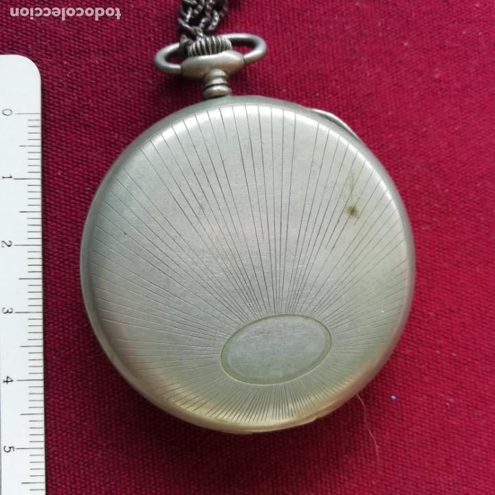 Relojes de bolsillo: Reloj de bolsillo Ailette. No funciona - Foto 3 - 156214186
