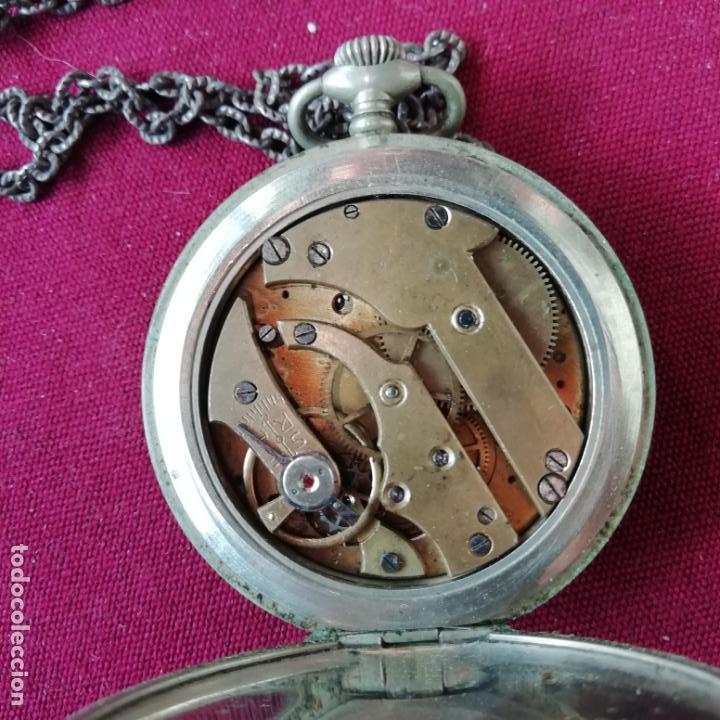 Relojes de bolsillo: Reloj de bolsillo Ailette. No funciona - Foto 4 - 156214186
