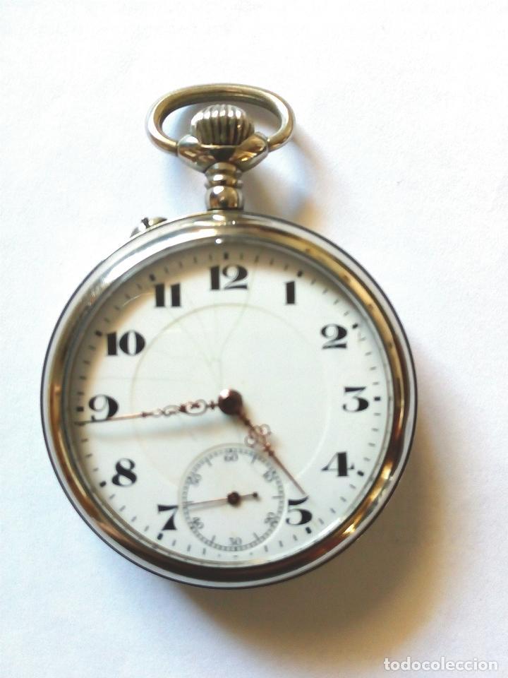RELOJ BOLSILLO FUNCIONANDO DE 1890 (Relojes - Bolsillo Carga Manual)