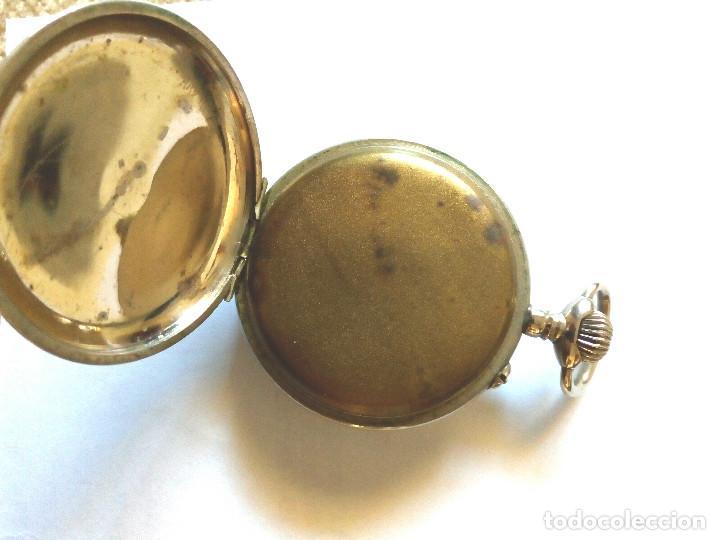 Relojes de bolsillo: RELOJ BOLSILLO FUNCIONANDO DE 1890 - Foto 3 - 156278330