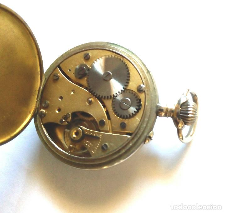 Relojes de bolsillo: RELOJ BOLSILLO FUNCIONANDO DE 1890 - Foto 4 - 156278330