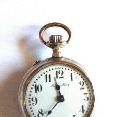 Relojes de bolsillo: RELOJ BOLSILLO FUNCIONANDO DE 1890 SISTEMA ROSKOPF. Lote 156282298