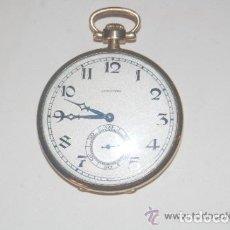 Relojes de bolsillo: RELOJ LONGINES DE ORO. Lote 156854642