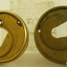 Relojes de bolsillo: 2 TAPAS O GUARDAPOLVOS DE RELOJ CATALINO O SEMI. Lote 156855014