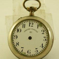 Relojes de bolsillo: CAJA MAS ESFERA SEGURO PATENT46.3MM. Lote 156856234