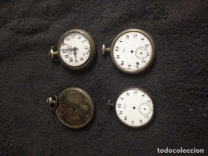 LOTE DE RELOJES (Relojes - Bolsillo Carga Manual)