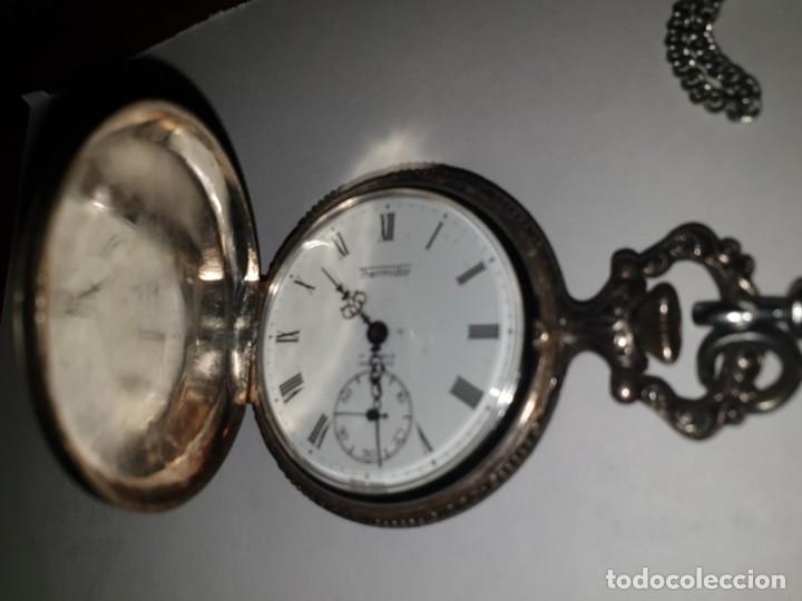 Relojes de bolsillo: RELOJ BOLSILLO PLATA THERMIDOR - Foto 2 - 157677866