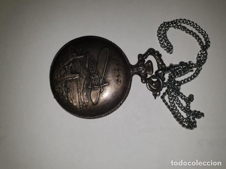 Relojes de bolsillo: RELOJ BOLSILLO PLATA THERMIDOR - Foto 3 - 157677866