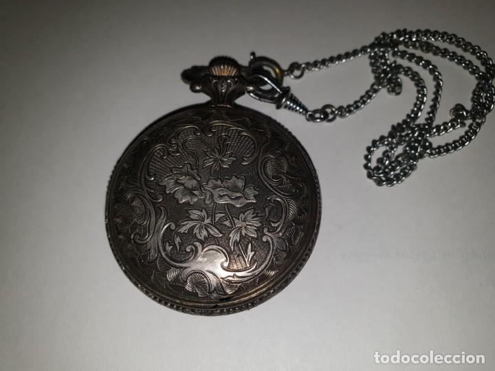 Relojes de bolsillo: RELOJ BOLSILLO PLATA THERMIDOR - Foto 4 - 157677866