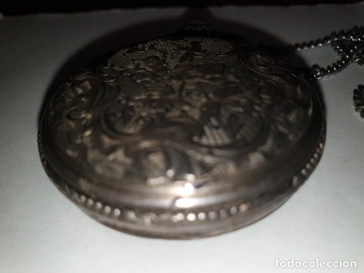 Relojes de bolsillo: RELOJ BOLSILLO PLATA THERMIDOR - Foto 5 - 157677866