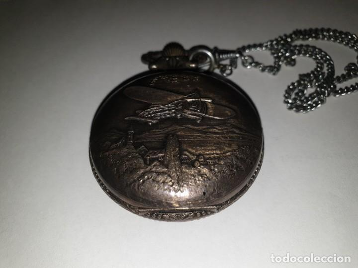 Relojes de bolsillo: RELOJ BOLSILLO PLATA THERMIDOR - Foto 6 - 157677866