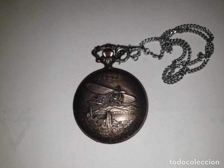 Relojes de bolsillo: RELOJ BOLSILLO PLATA THERMIDOR - Foto 7 - 157677866