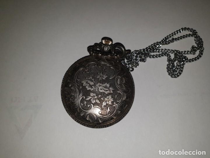 Relojes de bolsillo: RELOJ BOLSILLO PLATA THERMIDOR - Foto 9 - 157677866