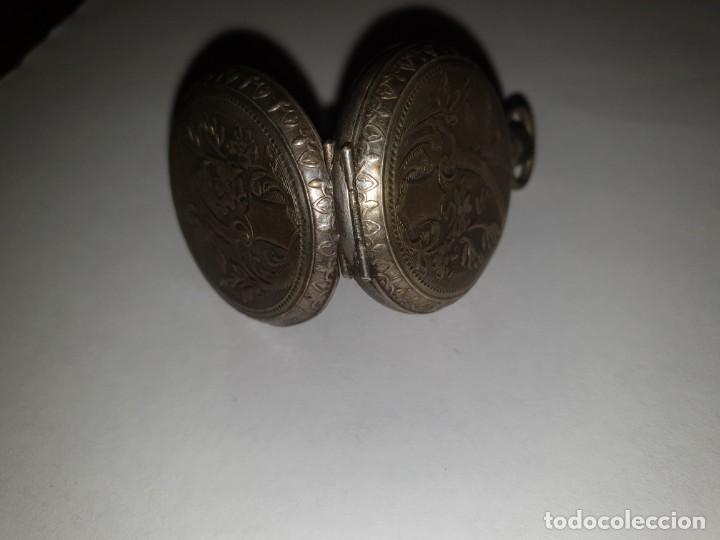 Relojes de bolsillo: RELOJ BOLSILLO PLATA - Foto 4 - 157678622