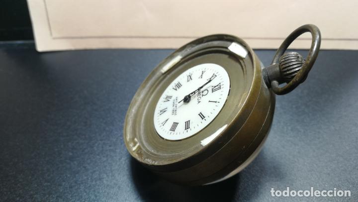 Relojes de bolsillo: Botito reloj para repara o piezas, la maguinaria funciona y se para - Foto 4 - 157734122