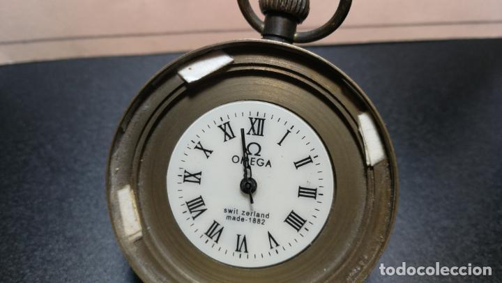 Relojes de bolsillo: Botito reloj para repara o piezas, la maguinaria funciona y se para - Foto 5 - 157734122
