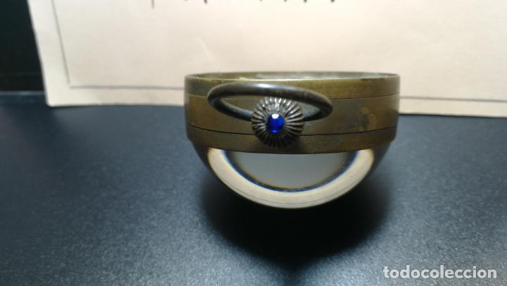 Relojes de bolsillo: Botito reloj para repara o piezas, la maguinaria funciona y se para - Foto 11 - 157734122