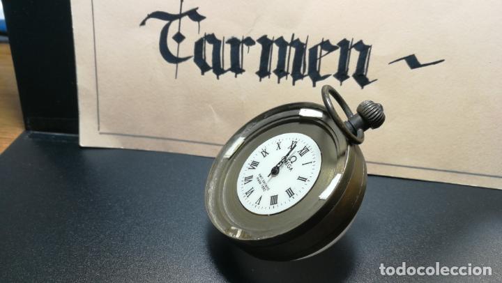 Relojes de bolsillo: Botito reloj para repara o piezas, la maguinaria funciona y se para - Foto 16 - 157734122