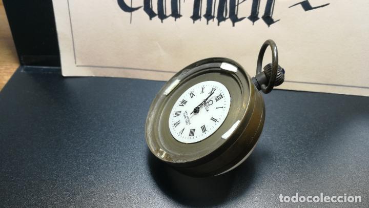 Relojes de bolsillo: Botito reloj para repara o piezas, la maguinaria funciona y se para - Foto 17 - 157734122