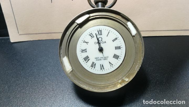 Relojes de bolsillo: Botito reloj para repara o piezas, la maguinaria funciona y se para - Foto 18 - 157734122