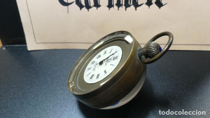 Relojes de bolsillo: Botito reloj para repara o piezas, la maguinaria funciona y se para - Foto 19 - 157734122