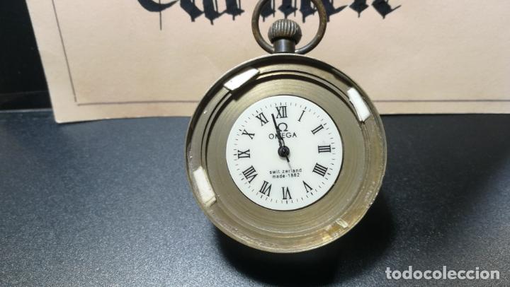 Relojes de bolsillo: Botito reloj para repara o piezas, la maguinaria funciona y se para - Foto 21 - 157734122