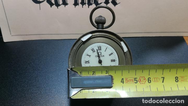 Relojes de bolsillo: Botito reloj para repara o piezas, la maguinaria funciona y se para - Foto 25 - 157734122