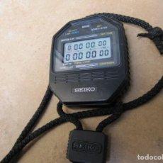 Relojes de bolsillo: ANTIGUO RELOJ CRONOMETRO DIGITAL DE LA MARCA SEIKO. Lote 157978066