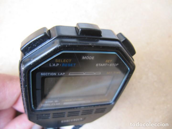 Relojes de bolsillo: ANTIGUO RELOJ CRONOMETRO DIGITAL DE LA MARCA SEIKO - Foto 8 - 157978066