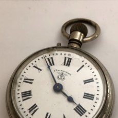 Relojes de bolsillo: RELOJ DE BOLSILLO BACHSCHMID, TIPO ROSKOPF, 1891.. Lote 158017878