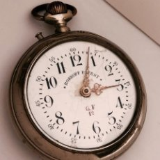 Relojes de bolsillo: RELOJ DE BOLSILLO ROSKOPF PATENT, 57MM, 1905. FUNCIONA.. Lote 158040278