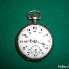 Relojes de bolsillo: RELOJ DE BOLSILLO EN PLATA . Lote 158100650