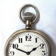 Relojes de bolsillo: ANTIGUO RELOJ DE BOLSILLO CH. F. TISSOT & FILS LOCLE DIAMETRO 5,5 CM FUNCIONA PERFECTO. Lote 158138038